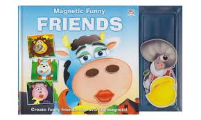 Magnetic Funny Friends
